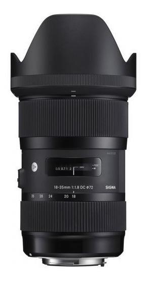 Lente Sigma Canon Série Art 1.8 18-35