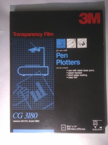 Imagen 1 de 9 de Láminas 3m De Acetato Para Plotters Y Impresión Laser .