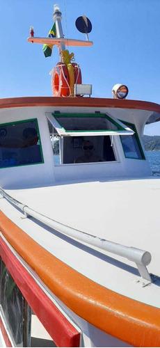 Imagem 1 de 15 de Barco De Madeira Ipê Porto Abrigado