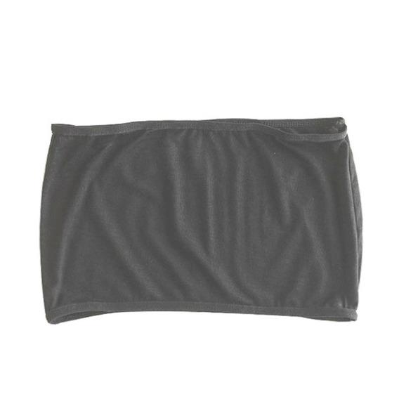 Blusa Crop Top Ombliguera Lisa De Tela Stretch Algodon 5402
