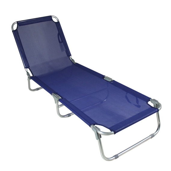 Cadeira Espreguiçadeira Em Alumínio 5 Posições Bel Lazer