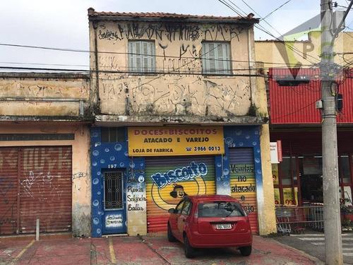 Salão Para Alugar, 100 M² Por R$ 2.000,00/mês - Limão (zona Norte) - São Paulo/sp - Sl0018