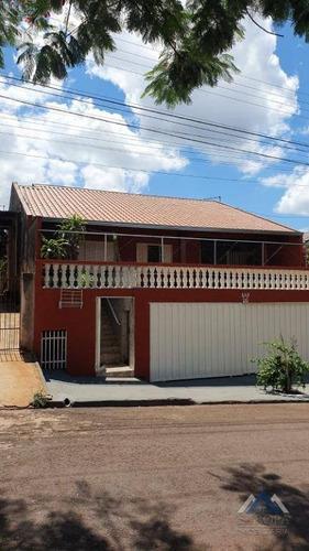 Imagem 1 de 12 de Casa Com 4 Dormitórios À Venda, 178 M² Por R$ 450.000,00 - Aquilles Sthengel - Londrina/pr - Ca1407