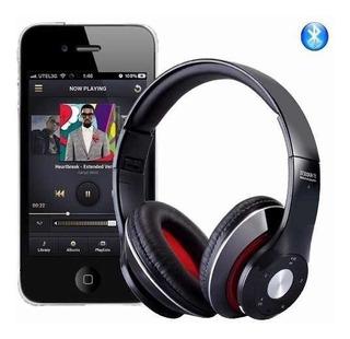 Fone De Ouvido Bluetooth Sem Fio Sd Fm P2 Chamadas Músicas