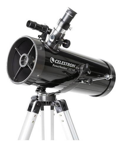 Telescópio Powerseeker 127az Newtonian W/phone Adapter