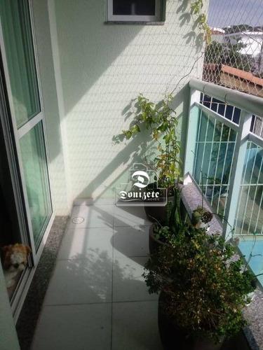 Cobertura Com 3 Dormitórios À Venda, 150 M² Por R$ 550.000,00 - Vila Marina - Santo André/sp - Co10875