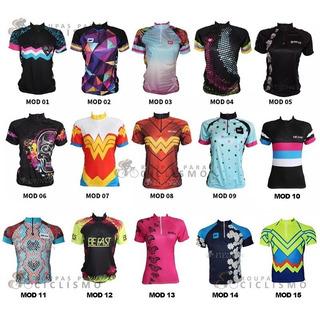Camisa Ciclismo Feminina Befast P-m-g-gg Promoção Compre Já