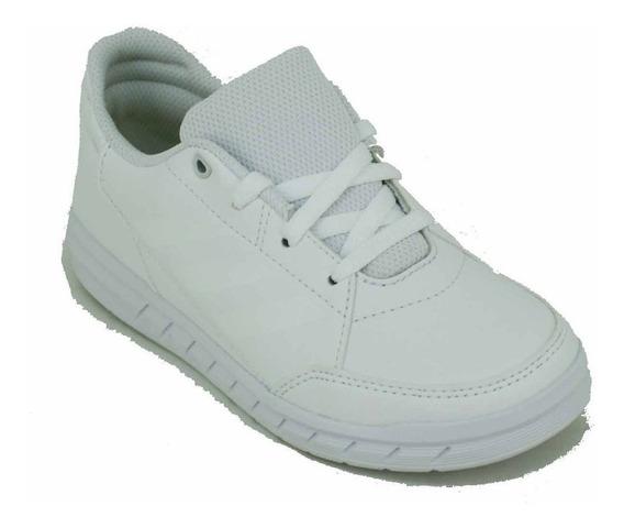 Zapatilla adidas Altasport Cordones Blanco Niño Deporfan
