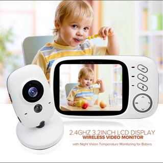 Monitor Bebe Camara Wireless Con Audio Y Video