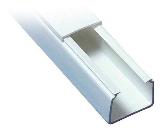 Canaleta Regleta Plastica Adhesiva Pvc Para Cables 40 X 25mm