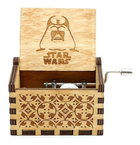 Caja Musical Games Of Thrones Harry Potter Star Wars Madera