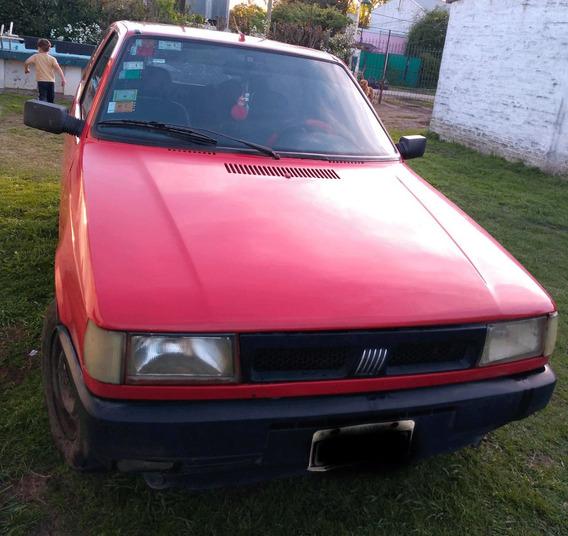 Fiat Uno 3 Puertas Rojo