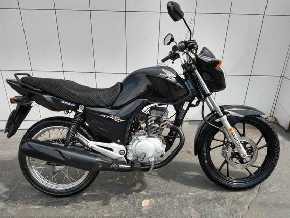 Honda Cg-150 Cg 150 Start C/ Freio Disco E Roda