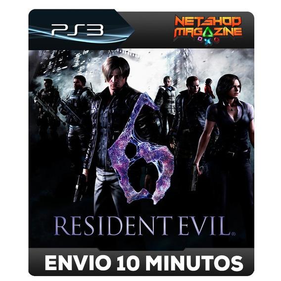 Residentevil 6 - Psn Ps3 - Envio Imediato