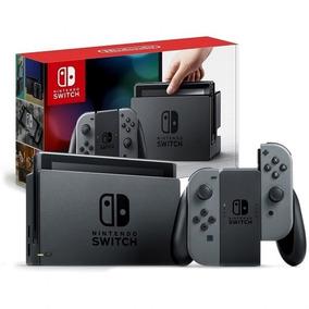Nintendo Switch 32gb Preto E Cinza Original Lacrado + Nf