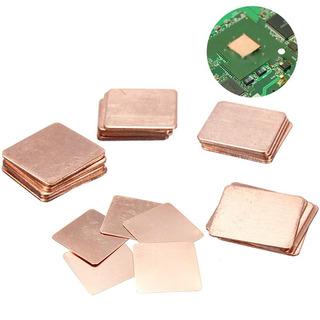 Ic Chipset Gpu Cpu Disipador Térmico Cobre Pad Almohadi...