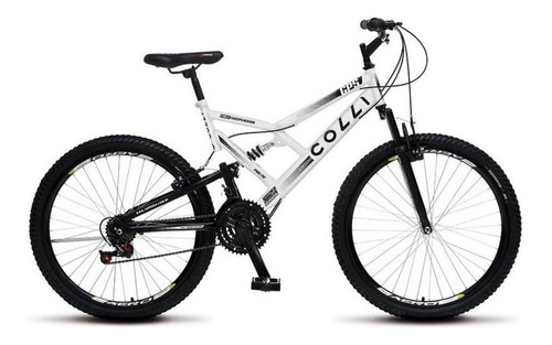 Bicicleta Colli Aro 26 Gps Dupla Suspensão 21 Marchas
