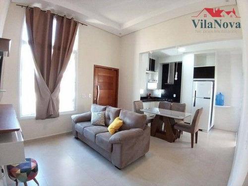 Casa Com 3 Dormitórios À Venda, 105 M² Por R$ 545.000,00 - Jardim Park Real - Indaiatuba/sp - Ca1906
