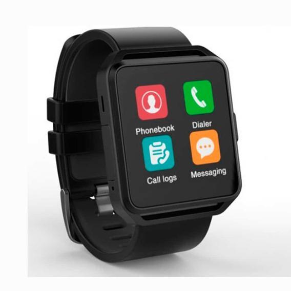 Ghia Smart Watch - Pantalla 1.54 Touch - Negro