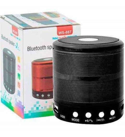 Caixinha De Som Bluetooth iPhone Samsung Lg Motorola Usb