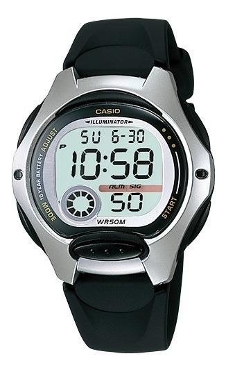 Relógio Casio Standard Feminino Digital Preto Lw-200-1avdf