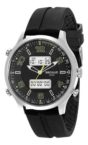 Relógio Seculus Masculino 77005g0svnu1