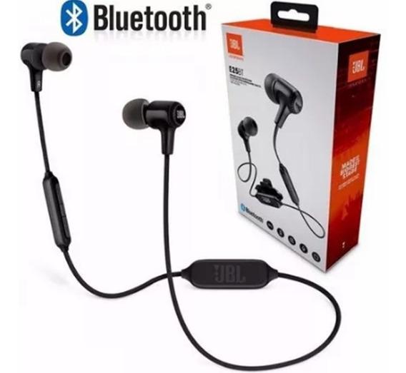 Fone De Ouvido Sem Fio Bluetooth Jbl T110bt Preto Original