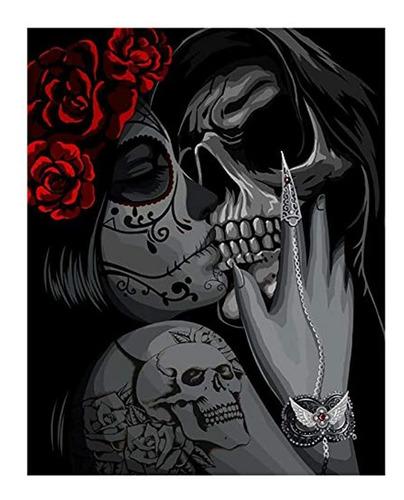 Imagen 1 de 7 de Kit De Pintura Al Óleo Para Halloween, 16x20in, Marca Pyle