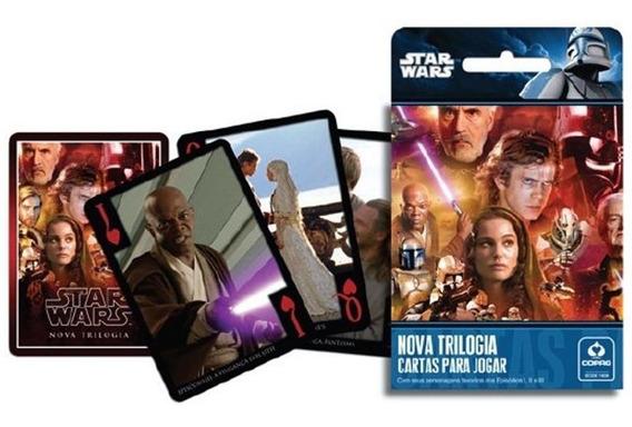 Kit 2 Baralho - Jogo De Baralho Star Wars - Classica E Nova