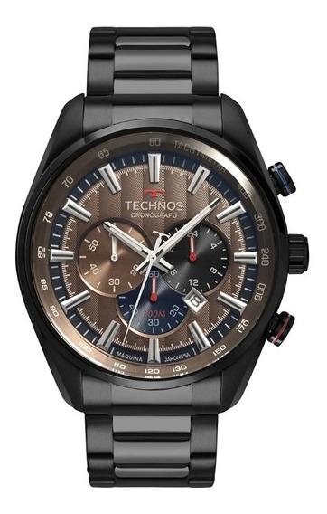 Relógio Technos Masculino Grandtech Preto Multi Os20hmj/4m