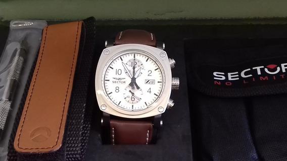 Relógio Sector Kit Masculino Cronógrafo Exclusivo!! Ws20038s