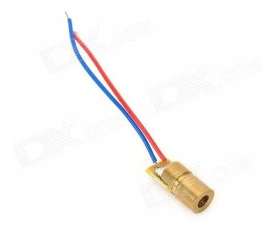 Raio Laser Diodo Vermelho 5v 650nm - 6mm Arduino Alarme Pic