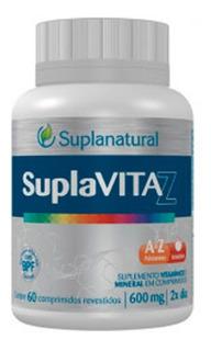 Suplavita Z Suplemento Vitamínico De A-z E Minerais 60caps