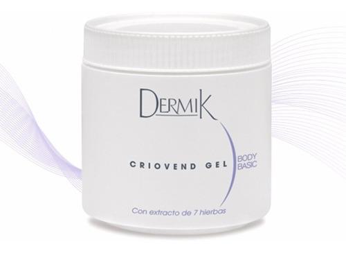 Gel Criogeno Reductivo Reafirmante  Criovend Dermik, 500g