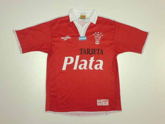 Camiseta Huracan Alt. Roja 2004 Meister Talle M