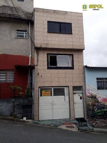 Sobrado Com 2 Dormitórios À Venda Por R$ 180.000,00 - Cidade São Mateus - São Paulo/sp - So0137