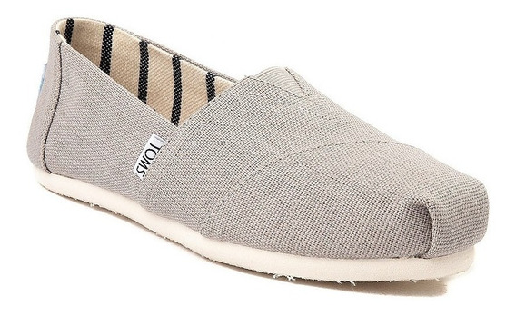 Zapato Casual Toms Mod. 350123 Classic Gris Mujer / H