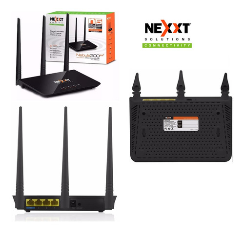 Router Inalámbrico Nebula 300plus N 300mbps Icb Technologies