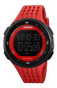 Relógio Digital Original Led 1219 Cores Dia Dos Namorados