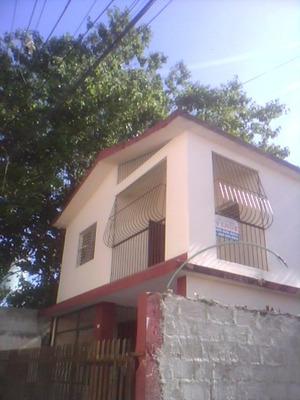 Alquilo Buena Casa De Dos Niveles, Primaveral, Villa Mella