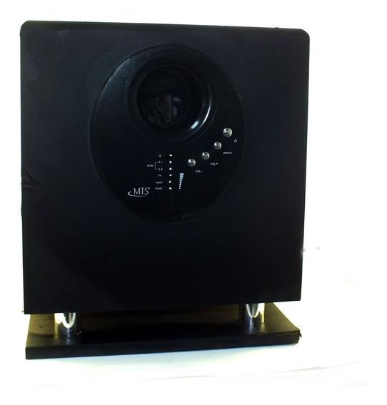 Aparelho De Som Receiver 5.1 Amplificador Mts Hts3200 120v 600w Com Pequenas Marcas De Uso A11243