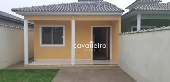 Casa Com 2 Dormitórios Sendo Os 2 Suites À Venda, 90 M² - Itaipuaçu - Maricá/rj - Ca3675