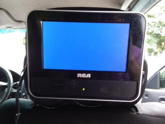 Reproductor De Dvd Portatil Marca Rca Para Carros Usado