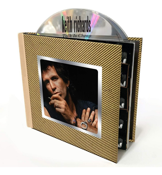 Cd Keith Richards Talk Is Cheap Duplo Deluxe Rolling Stones