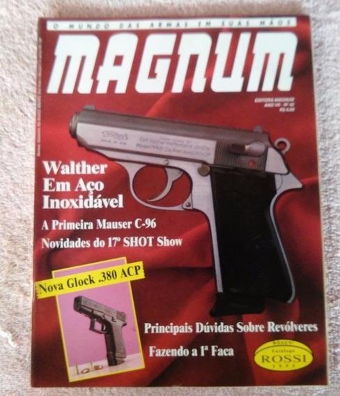 Revista Magnum Nº 42 Arma De Fogo Faca Munição Frete Grátis