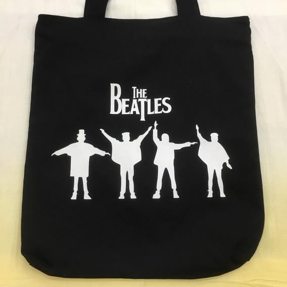 Bolsa Tecido Beatles P&b
