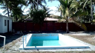 Vendo Rancho Frente A Playa El Pimental, San Luis Talpa