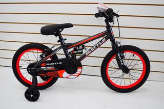 Bicicleta Rodado 16 Battle Aluminio