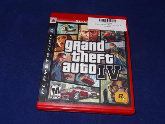 Jogo Ps3 - Gta Grand Theft Auto 4