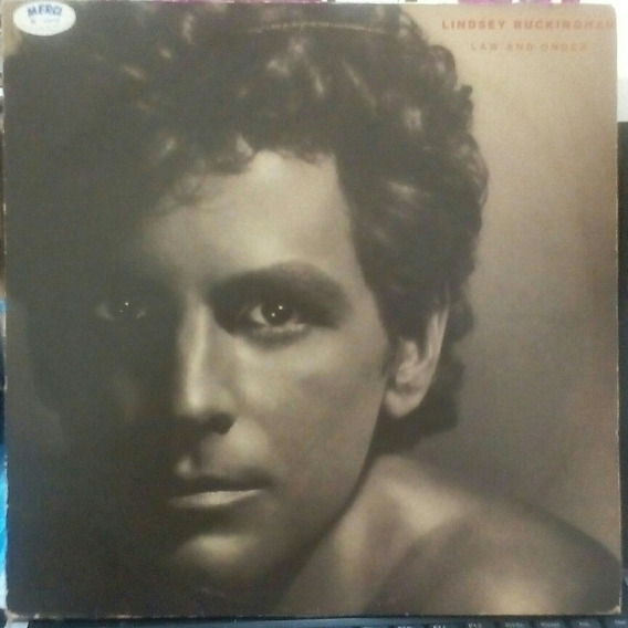 Lp Lindsey Buckingham Law And Order 1981 Trouble Excelente